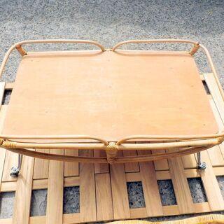 商談中になりました。籐製 ゆりかご 中古 − 鳥取県