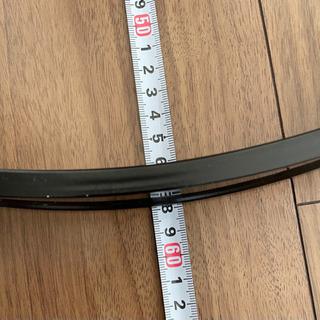 【ネット決済】バスドラム フープ ドラムヘッド付き 直径58cm...