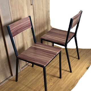 【ネット決済】チェア(椅子)2脚セット 取りに来ていただける方