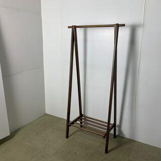 (210729) 木製ハンガーラック おしゃれな形