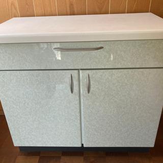 キッチン収納付きカウンター