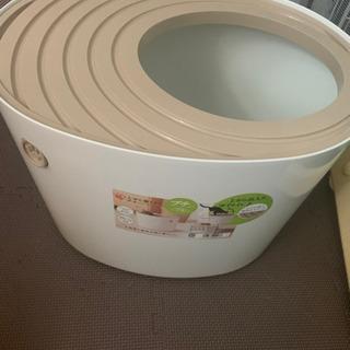 猫トイレ  きまりました👐🏻