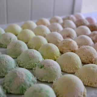 アイスクリームのスイーツデコ 軽量粘土「54個セット」