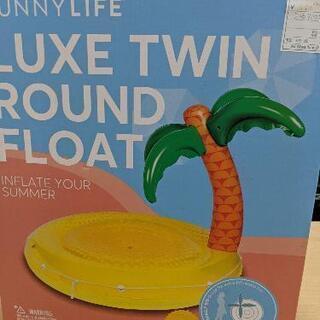 新品❗浮き輪 LUXE TWIN ROUND FLOAT 定価8...