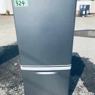 324番 Panasonic✨ノンフロン冷凍冷蔵庫✨NR-B14...