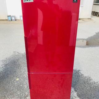 325番 シャープ✨ノンフロン冷凍冷蔵庫✨SJ-PD27X-R‼️