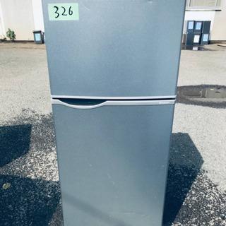 326番 シャープ✨ノンフロン冷凍冷蔵庫✨SJ-H12Y-S‼️