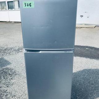 328番AQUA✨ノンフロン冷凍冷蔵庫✨AQR-141E‼️