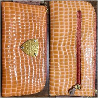 【値下げ】神戸アタオのエナメルレザー長財布