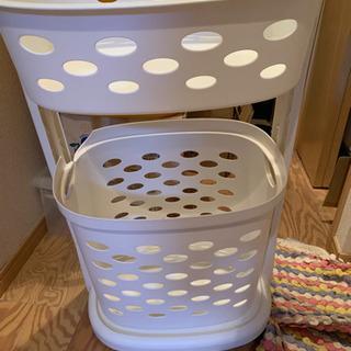 ランドリーバスケット 洗濯カゴ
