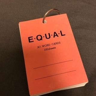 単語カード