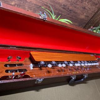 【ネット決済】大正琴 楓 お琴 楽器 琴伝流 和楽器 ケース付き...