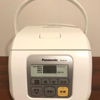 炊飯器 Panasonic パナソニック 2013年 3合