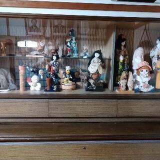 お土産品の人形類