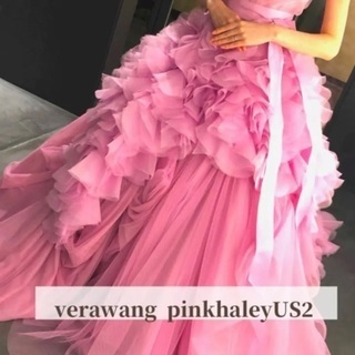 【ネット決済・配送可】✱ verawang ピンクヘイリー ✱
