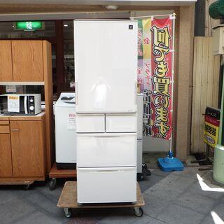 【美品】どっちもドア シャープ ノンフロン冷凍冷蔵庫 SJ-PW...
