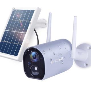 1台限り!激安新品未開封ソーラーパネル付き防犯カメラ