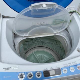 【ネット決済】洗濯機 Panasonic NA-FS60H1 青...