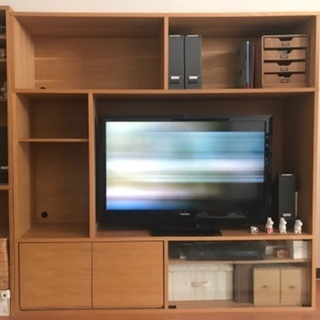 無印良品 スタッキングキャビネット テレビボード 2014年頃購入