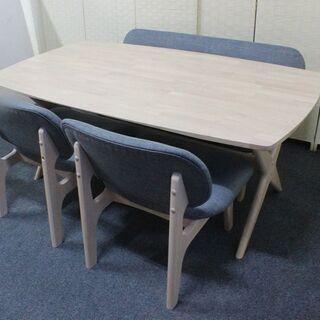 NITORI リラックス リビングダイニングテーブル4点セット ...