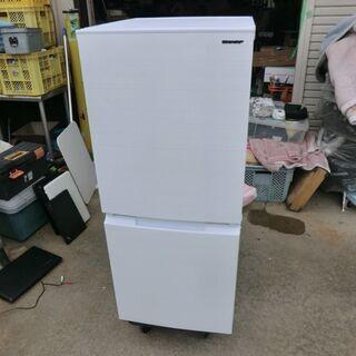 2021年製☆SHARP 152L冷凍冷蔵庫 SJ-D15G 美...