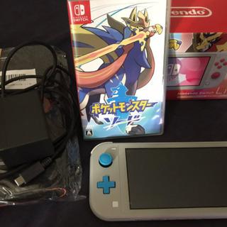 Nintendo Switch Lite ザシアン・ザマゼンタ ...