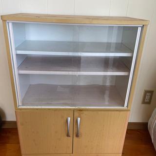 【ネット決済】食器棚!!値下げしました!値段交渉応じます!