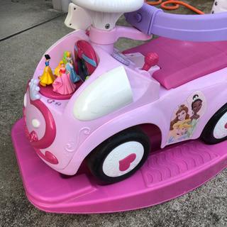 ディズニープリンセス 手押し車 乗用玩具