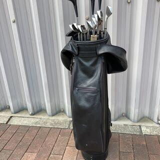 ゴルフクラブ一式バッグ付き 古いですが メンズ用