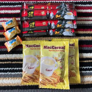 【ネット決済】ベトナムのコーヒー、コーンスープ、飴