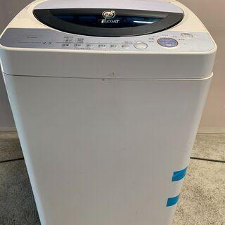 【無料】2007年製 SHARP 4.5kg洗濯機 ES-FG4...