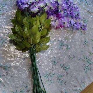 藤の花 造花12本セット