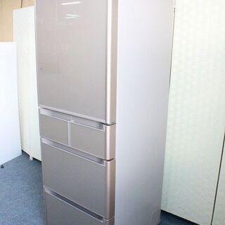 日立 5ドア冷凍冷蔵庫 401L 真空チルド タッチパネル R-...
