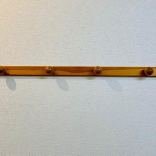 ハンガー壁掛け 木製「4玉タイプ」壁掛けフック 帽子掛け …