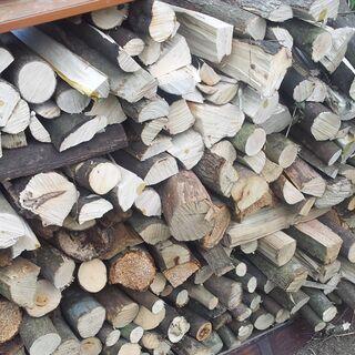 【ネット決済・配送可】針葉樹 広葉樹 薪 10㎏単位で
