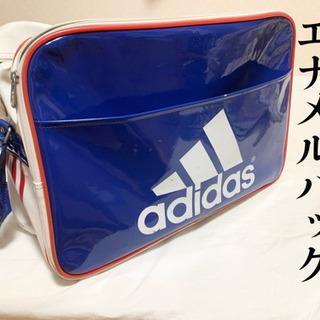 【ネット決済】【 adidas 】 スポーツ エナメルバッグ (中古)