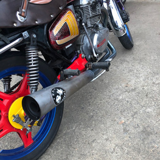 【ネット決済・配送可】CB250T バブ ホーク2 外装 単車 バイク
