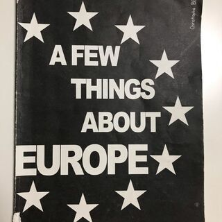 A FEW THINGS ABOUT EUROPE、関西外国語大...