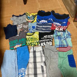 男の子上下夏服2歳〜3歳