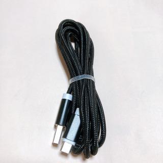 マイクロUSB、2mブラック