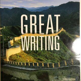 GREAT WRITING 3 、関西外国語大学教科書