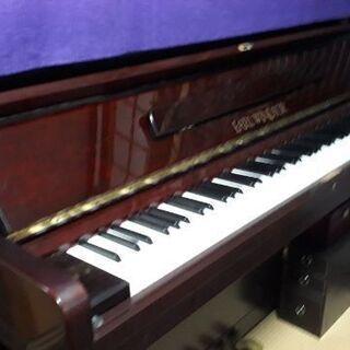 ワインレッド【フローラ】アップライトクラシックピアノ