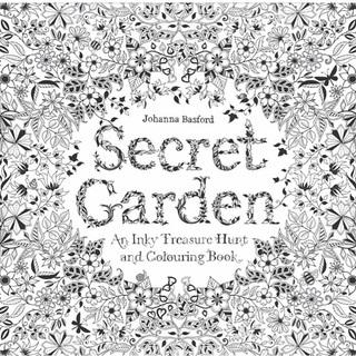 secret garden シークレットガーデン 塗り絵 大人の塗り絵