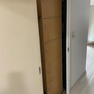 5段収納家具