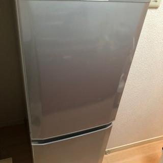 【ネット決済】三菱ノンフロン冷凍冷蔵庫MR-P15Z-S2015年製