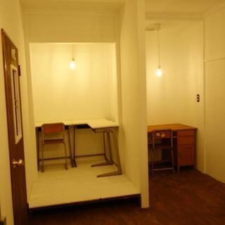 全部屋鍵付き個室月々¥29000〜多目的スペース(アトリエ&作業場)併設のシェアハウス! − 宮城県