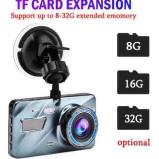 新品 未使用 1080p ドライブレコーダー デュアルカメラ G...