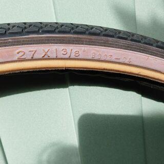 27インチ自転車のタイヤ&チューブ