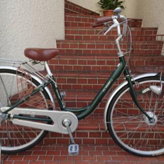 【整備済自転車】マルイシ製 26インチ変速なし LEDオー…
