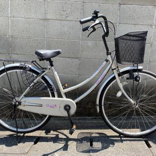 【整備済自転車】26インチ変速なし お手軽ママチャリ❗️シ…